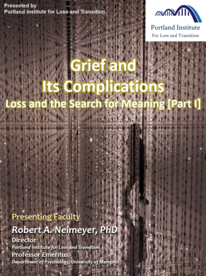 Poster - Grief & Its Complications I