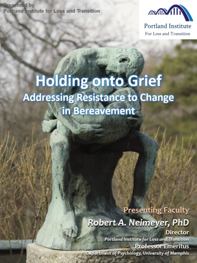 Poster - Holding onto Grief